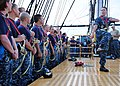 Flickr - Official U.S. Navy Imagery - USS Constitution Sailor trains chief selects to climb aloft.jpg