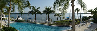 Longboat Key, Florida - View of Millar bay and Sister Keys from a Longboat Keys residence