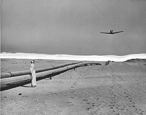 Trans-Arabian Pipeline - Trans-Arabian Pipeline in 1950
