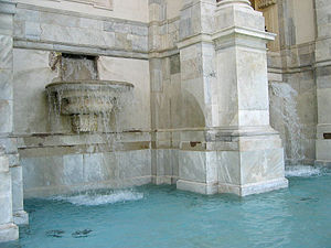 Fontana dell'Acqua Paola -  Fontana dell'Acqua Paola (detail)