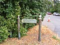 Footpath Marker, Outney Road - geograph.org.uk - 2065772.jpg