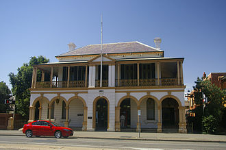 Commercial Banking Company of Sydney - Former CBC Bank in Wagga Wagga, New South Wales