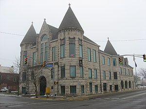 National Register of Historic Places listings in Howard County, Indiana - Image: Former Kokomo City Building