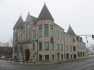 Kokomo City Building - Former Kokomo City Building, January 2010