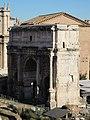 Foro romano dal campidoglio 06 arco di settimio severo.JPG