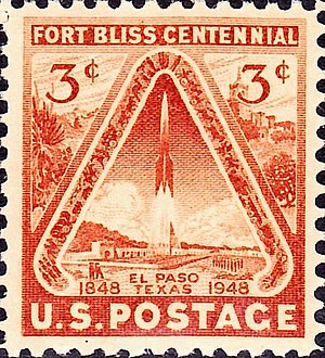 Fort Bliss - Fort Bliss 100th Anniversary Issue of 1948