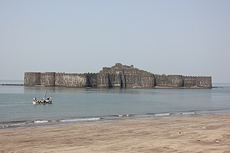 Janjira State - View of Janjira Fort
