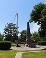 Fort Rouillé Monument and turbine.jpg