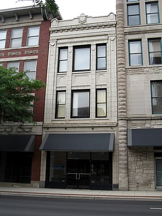 National Register of Historic Places listings in Allen County, Indiana - Image: Fort Wayne Blackstone Building