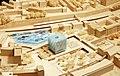 Foto des Wettbewerbsmodells für das Areal am Hauptbahnhof Wuppertal-Döppersberg mit dem Entwurf von JSWD Architekten aus Köln.jpg
