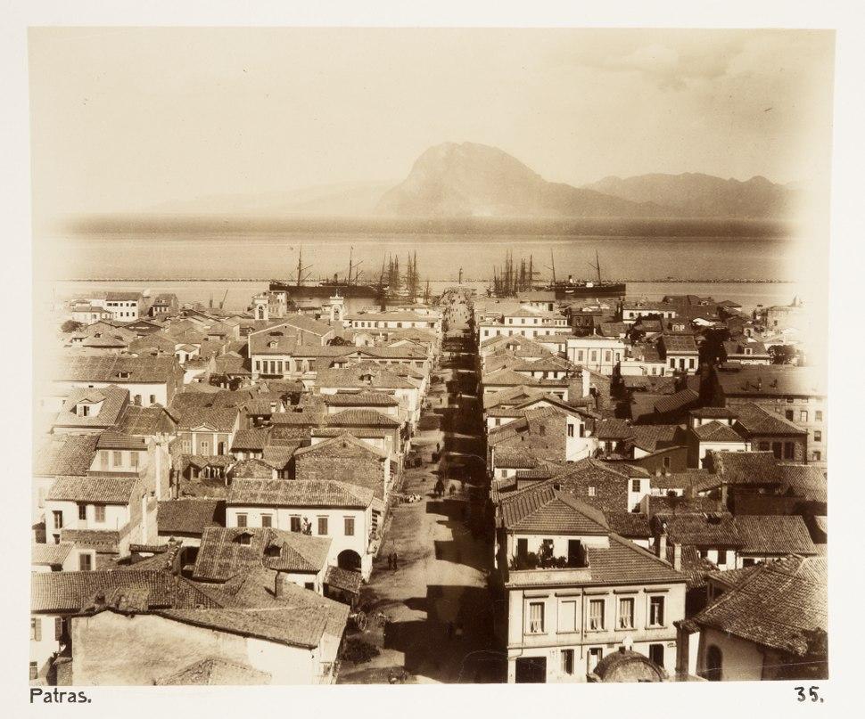 Fotografi från Patras, Grekland - Hallwylska museet - 104593