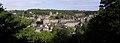 Fougères (35) Le château vu du jardin public 03.JPG