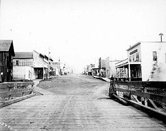 Seward, Alaska - Fourth Avenue, August 1907