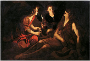 Francesco Rustici - The death of Saint Mary Magdalene.PNG