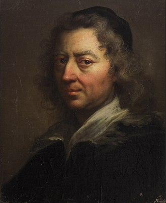Frans van Stampart - Portrait of a man
