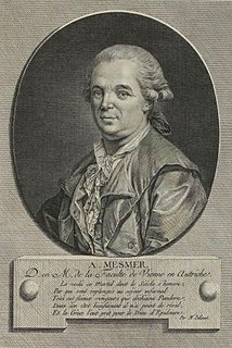 Franz Mesmer German physician
