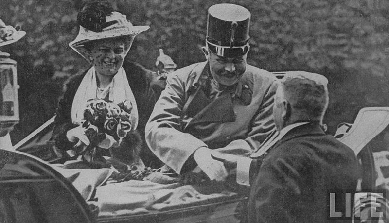 File:Franz Ferdinand & Sophie in Sarajevo.jpg