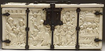casket with scenes of romances walters 71264 wikipedia