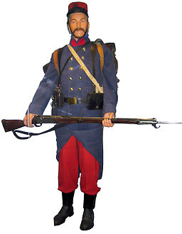French soldier early uniform WWI