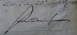 Frederick I of Prussia - Image: Friedrich I. (Preußen) signature