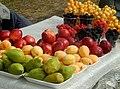 Fruits in Georgian village.jpg