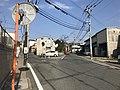Fukuoka Prefectural Road No.504 near Kyushu High School 2.jpg