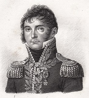 French General during the French Revolutionary Wars and Napoleonic Wars
