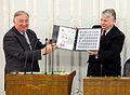 Gérard Larcher Bogdan Borusewicz Senate of Poland.JPG