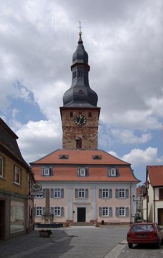 Göllheim - Image: Göllheim BW 2011 06 30 12 34 50