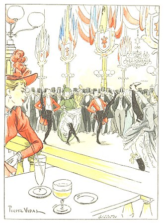 Cabaret - The Moulin Rouge in 1893