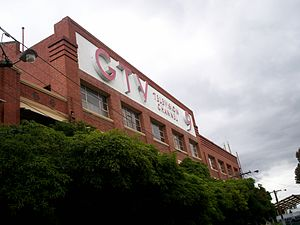 3AK - The former GTV-9 premises in Richmond which also housed the 3AK studio, from 1961 to 1991.