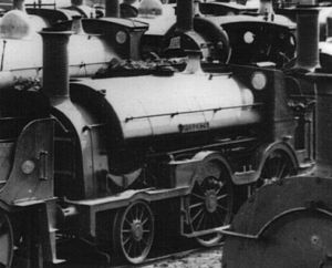GWR Hawthorn Class - Roberts at Swindon after withdrawal