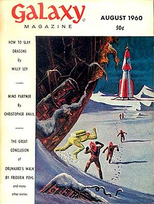 """Neal Barrett Jr. - Barrett's first sf story, """"To Tell the Truth"""" was originally published in the August 1960 issue of Galaxy Science Fiction"""