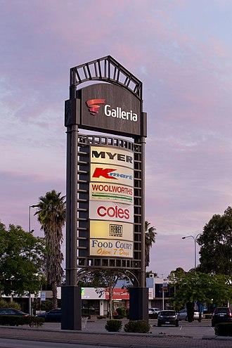 Vicinity Centres - Image: Galleria Shopping centre