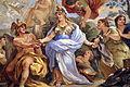 Galleria di luca giordano, 1682-85, Minerva protettrice delle Arti e delle Scienze 06 minerva-sapienza.JPG