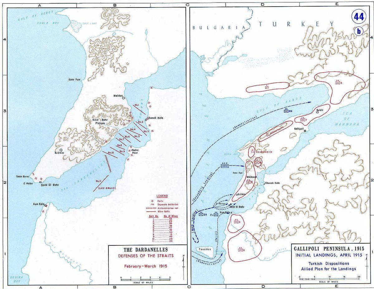 Slaget Ved Gallipoli Wikipedia Den Frie Encyklopaedi