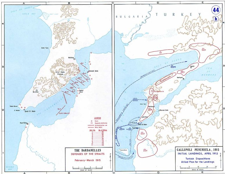 Gallipoli Battlefields (~1915), Turkiye