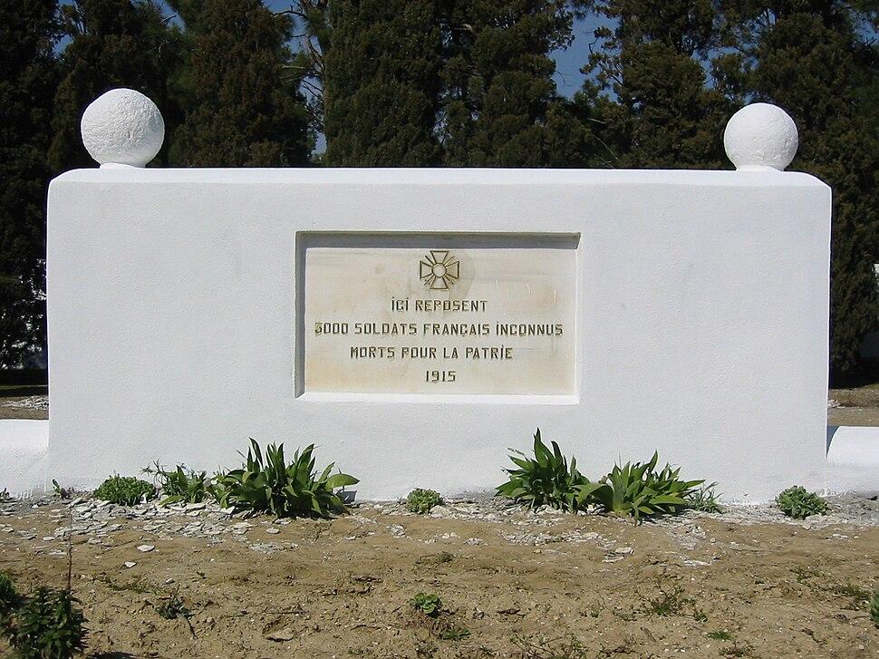 Gallipolifrenchossuary