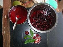 Seeds Garcinia indica Kokum butter tree, Mangosteen