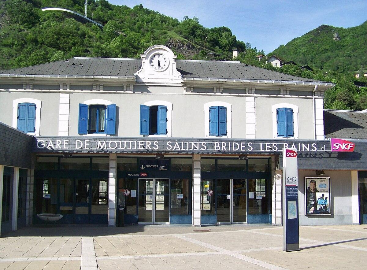 Gare de mo tiers salins brides les bains wikipedia - Hotel port salins 4 empuriabrava ...