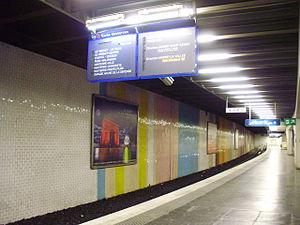 Saint-Germain-en-Laye Station - Platforms