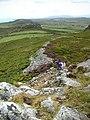 Garn Fawr looking east - geograph.org.uk - 451654.jpg