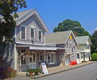 Garrison, New York - The Garrison Art Center and other structures within Garrison Landing