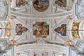 Garsten Pfarrkirche Langhaus Joch 4 Deckenfresken.jpg