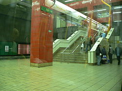 Gateshead Metro Station Platform 2