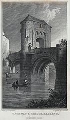 Gateway & bridge, Ragland, Monmouthshire