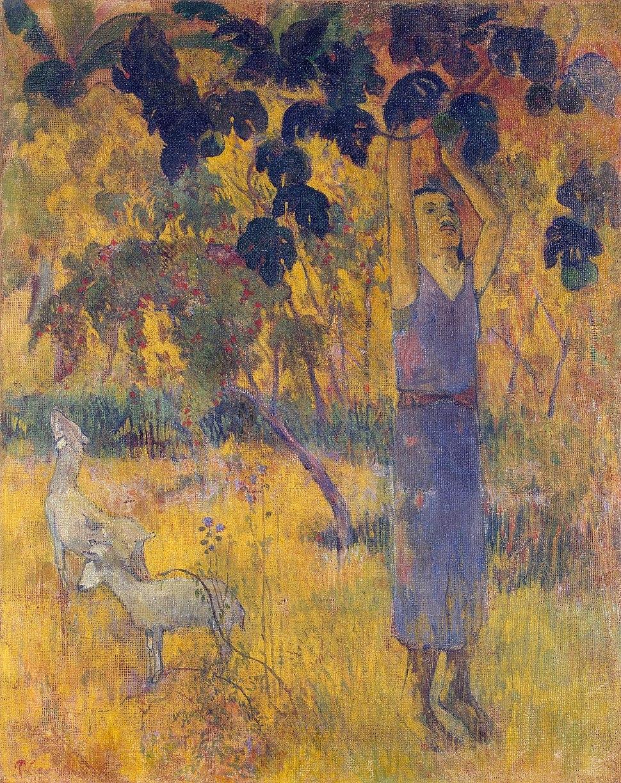 Gauguin La r%C3%A9colte