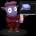 Gavroche mascot of GNU MediaGoblin.png