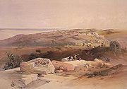 Gaza painting - David Roberts