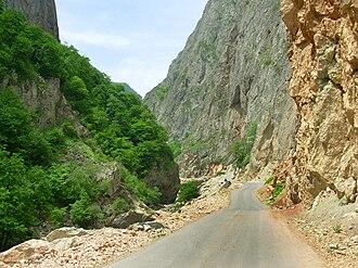 Quba District (Azerbaijan) - Image: Gechresh Azerbaijan 02